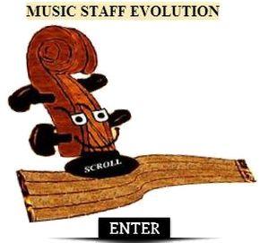 Music Staff Evo enter
