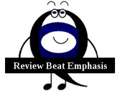 Q review beat emphasis