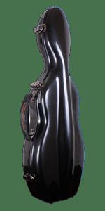 SEFiberglass Violin Carbon front